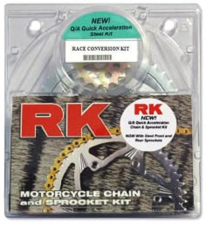 RK Chain & Sprocket Kit OEM Gearing - Kawasaki ZX-6R (98-02)
