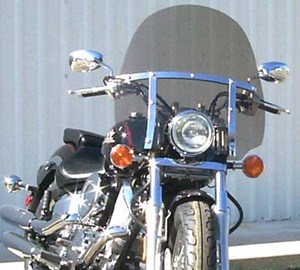 Rifle Classic Windshield for V-star Custom 1100 / 650