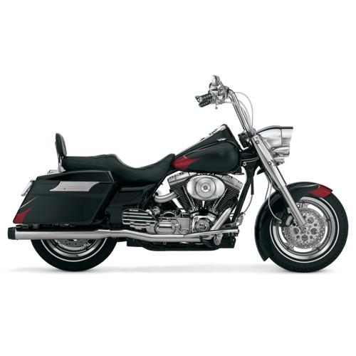 Rinehart True Dual Exhaust System - Harley Davidson Touring Models (95-06)