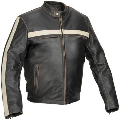 River Road Hoodlum Vintage Leather Jacket 116