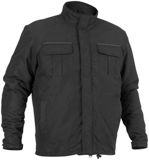 River Road Trekker Motorcycle Jacket - Black