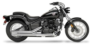 "Road Burner 2-1/2"" Streetlites Exhaust - Yamaha V-Star 650 (98-07)"