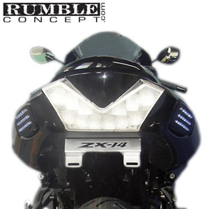 Rumble Concepts Bone Series Fender Eliminator for Kawasaki ZX14R