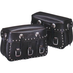 Saddlemen Rigid-Mount Desperado Universal Saddlebags