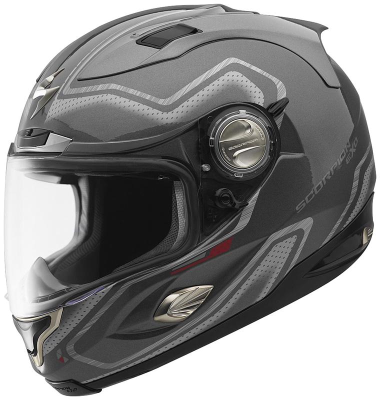 scorpion exo 1000 apollo full face helmet dark silver. Black Bedroom Furniture Sets. Home Design Ideas