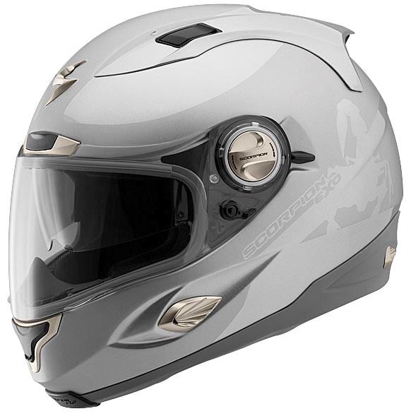 scorpion exo 1000 sublim full face helmet silver. Black Bedroom Furniture Sets. Home Design Ideas