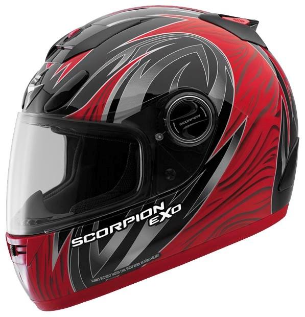 Lift Kits For Less >> Scorpion EXO-700 Predator Full Face Helmet - Red