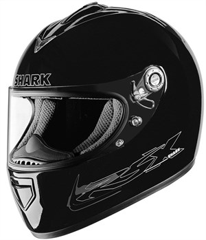 Shark RSX Full Face Helmet - Initial Black