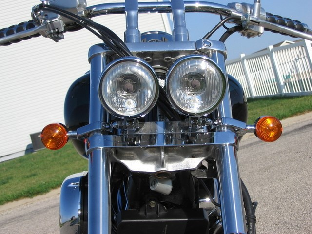 Sikcycles Honda Spirit 750 Dual Headlight Kit