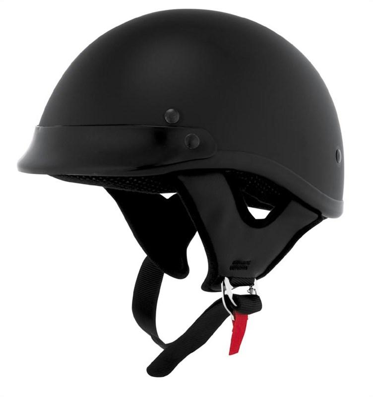 Motorcycle Half Helmets Half Helmet Flat Black