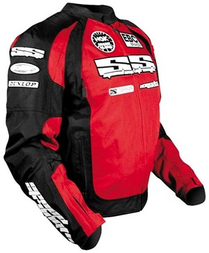 Speed & Strength Moment of Truth SP Textile Jacket - Red / Black