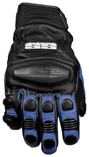 Speed & Strength Twist of Fate SX Leather Gloves - Blue