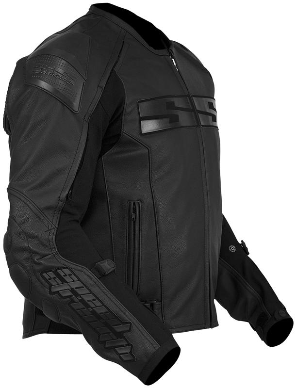 Speed Amp Strength Under The Radar Leather Jacket Black