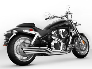 Vance & Hines Big Shots Staggered for Honda VTX1800 C/F