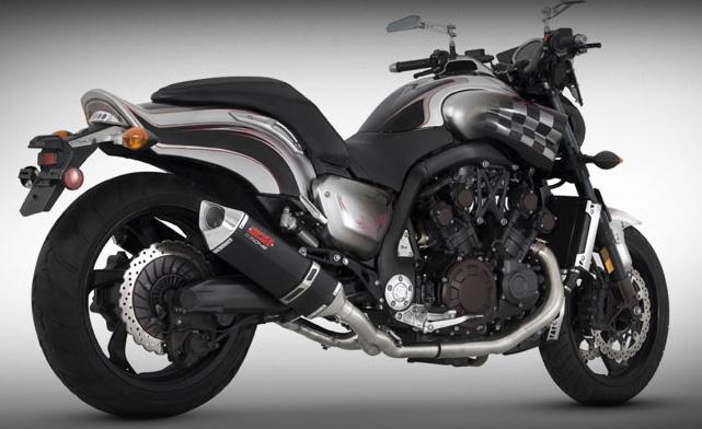 Vance & Hines CS One Dual Slip-On Exhaust - Yamaha V-Max (09-10)