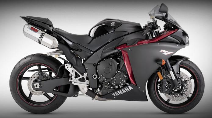 Yamaha R Dual Undertail Exhaust