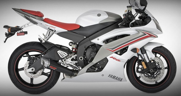 Vance hines cs one tapered slip on exhaust yamaha yzf for Best exhaust system for yamaha r6