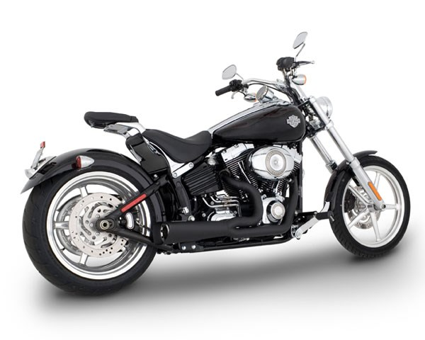 Vance & Hines Competition Series Black Exhaust - Harley Davidson Softail  (00-11)
