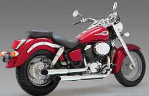 Vance & Hines Cruzers Exhaust - Honda Shadow Ace 750
