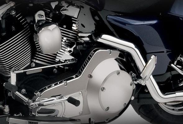 Vance Hines Dresser Duals Chrome Exhaust Harley Davidson Touring Models