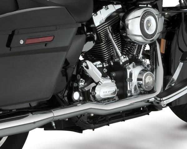 Vance Hines Dresser Duals Chrome Exhaust Harley Davidson Touring Models 07 08