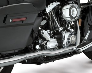 Vance & Hines Dresser Duals Chrome Exhaust - Harley Davidson Touring Models (07-08)