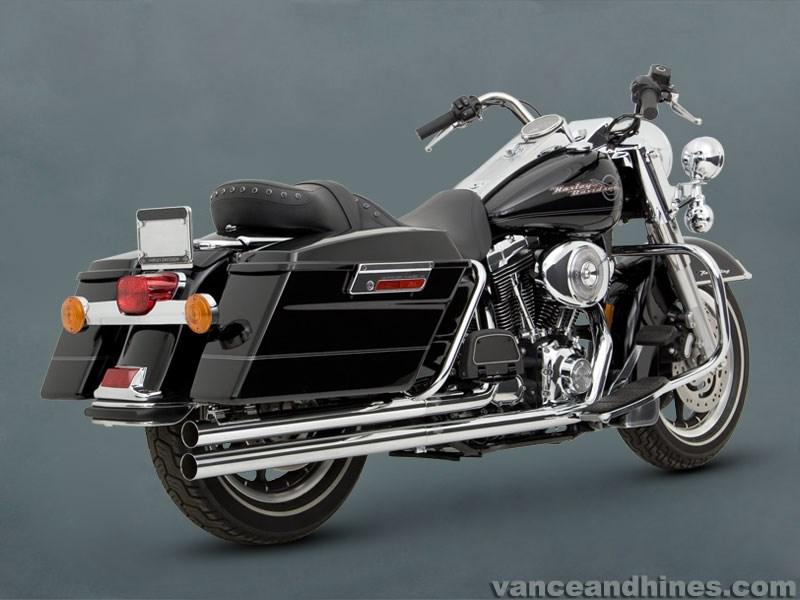 Vance Hines Longshots Exhaust Harley Davidson Dresser
