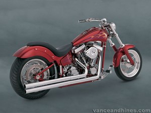 Vance & Hines Longshots Exhaust - Harley Davidson Softail (86-06)