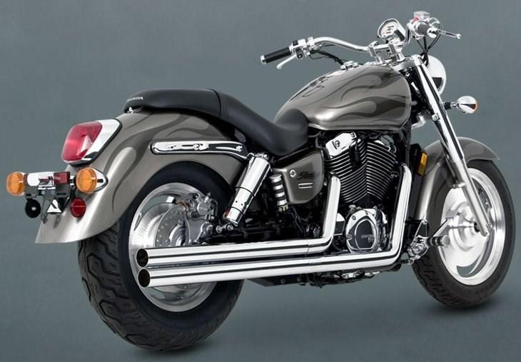 Vance & Hines Longshots Exhaust - Honda Shadow Aero 1100