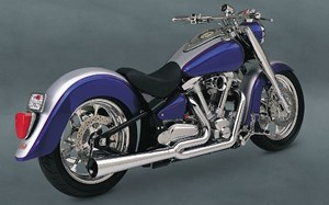 Vance & Hines Pro-Pipe HS (2-into-1) - Yamaha Road Star 1600
