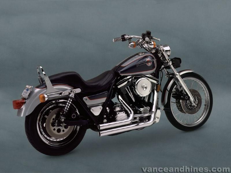 Vance & Hines Shortshots Exhaust - Harley Davidson FXR (87-89)