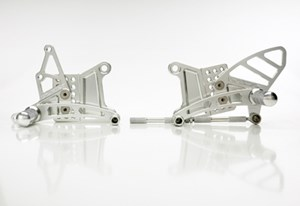 Vortex Adjustable Rearsets for Kawasaki ZX6RR 03-04, ZX636 03-04