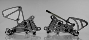 Vortex Adjustable Rearsets for Yamaha R1 (04-05)