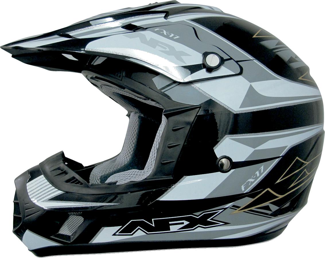 Afx Fx 17 Off Road Motorcycle Helmet Multi Black