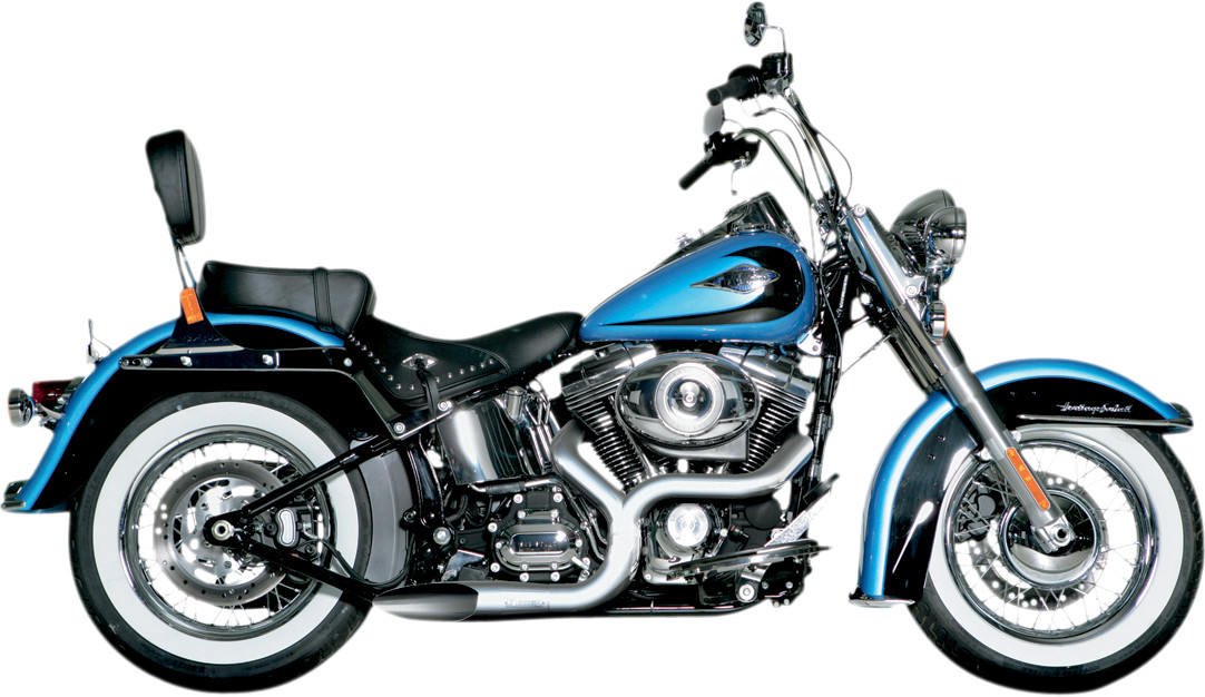 Akrapovic Open Line 2into1 Exhaust System Harley Davidson Softail 0612: Harley Davidson Exhaust Kits At Woreks.co
