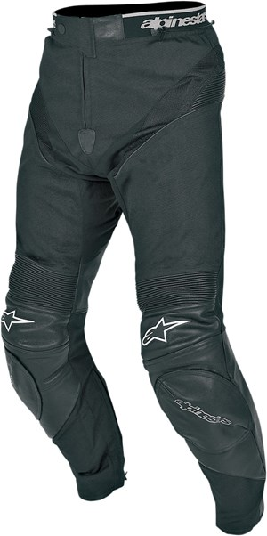 Alpinestars A-10 Leather / Textile Motorcycle Pants