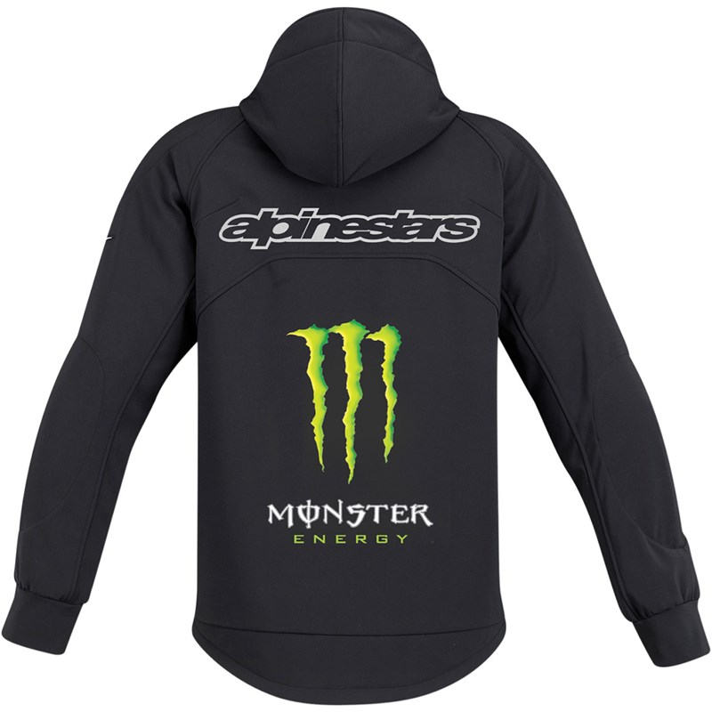 alpinestars cloak tech monster energy fleece hoodie. Black Bedroom Furniture Sets. Home Design Ideas