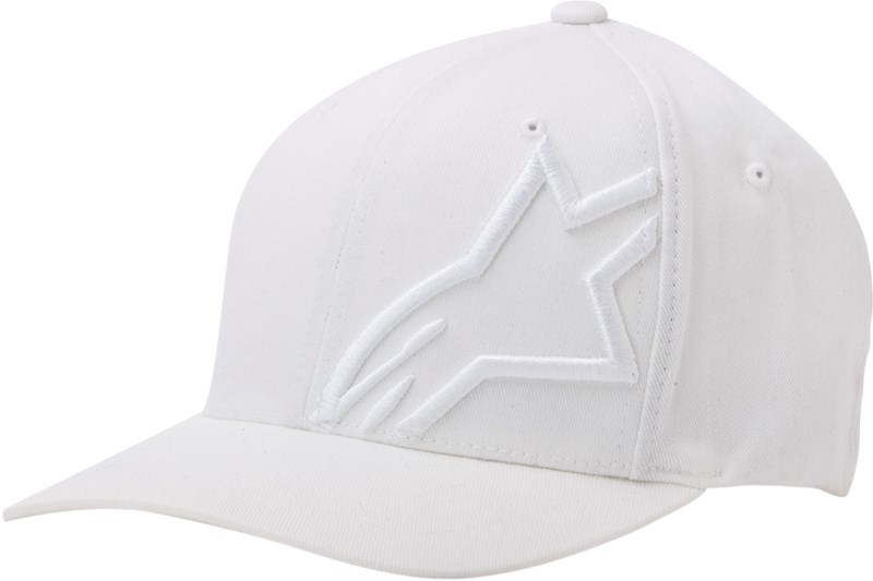 77e7b742234a4 Alpinestars Corp Shift 2 Flexfit Hat - White