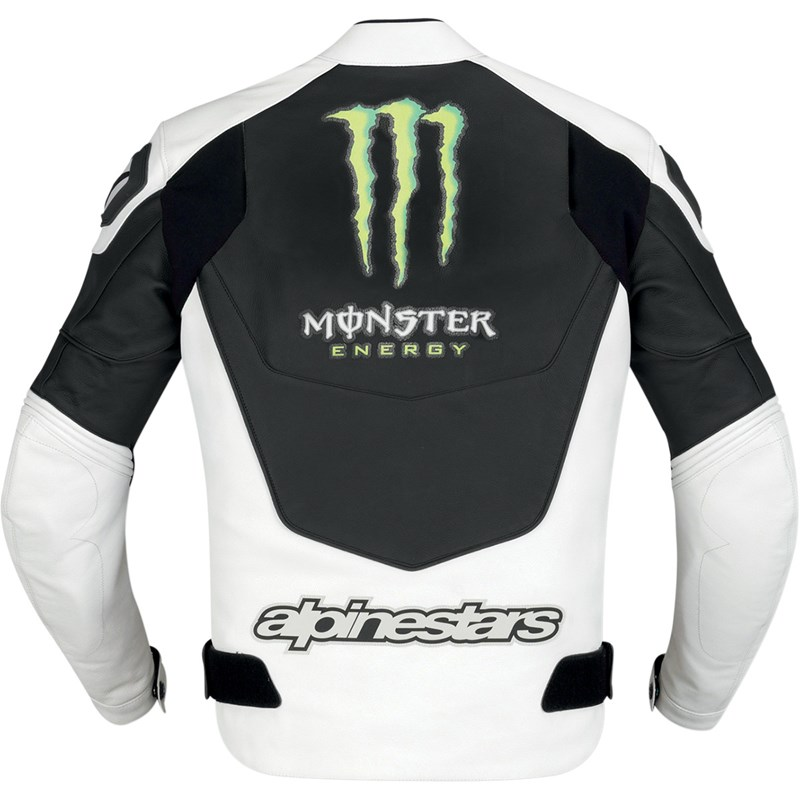 Alpinestars Gp M Perforated Monster Energy Leather