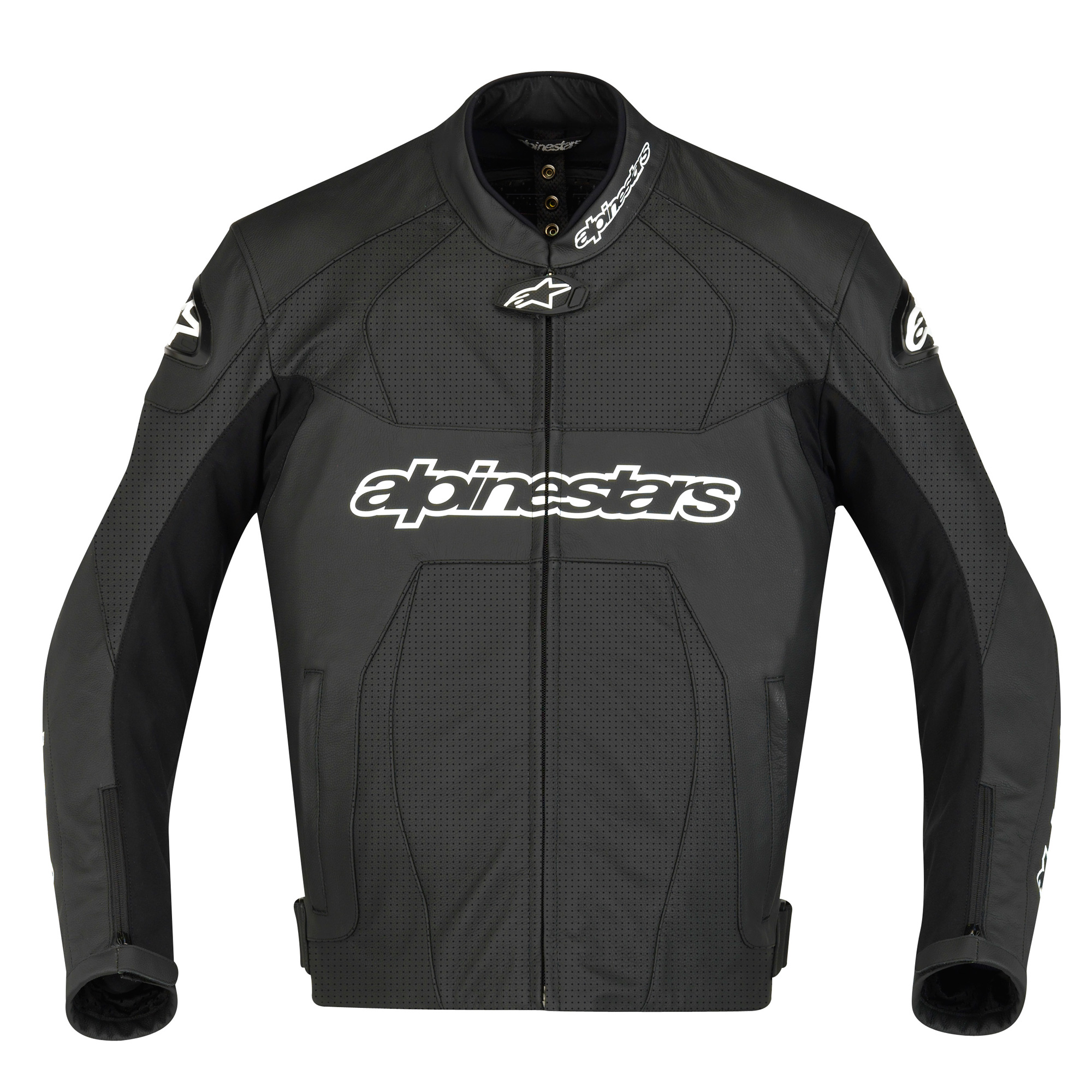 alpinestars gp plus perforated leather jacket black. Black Bedroom Furniture Sets. Home Design Ideas