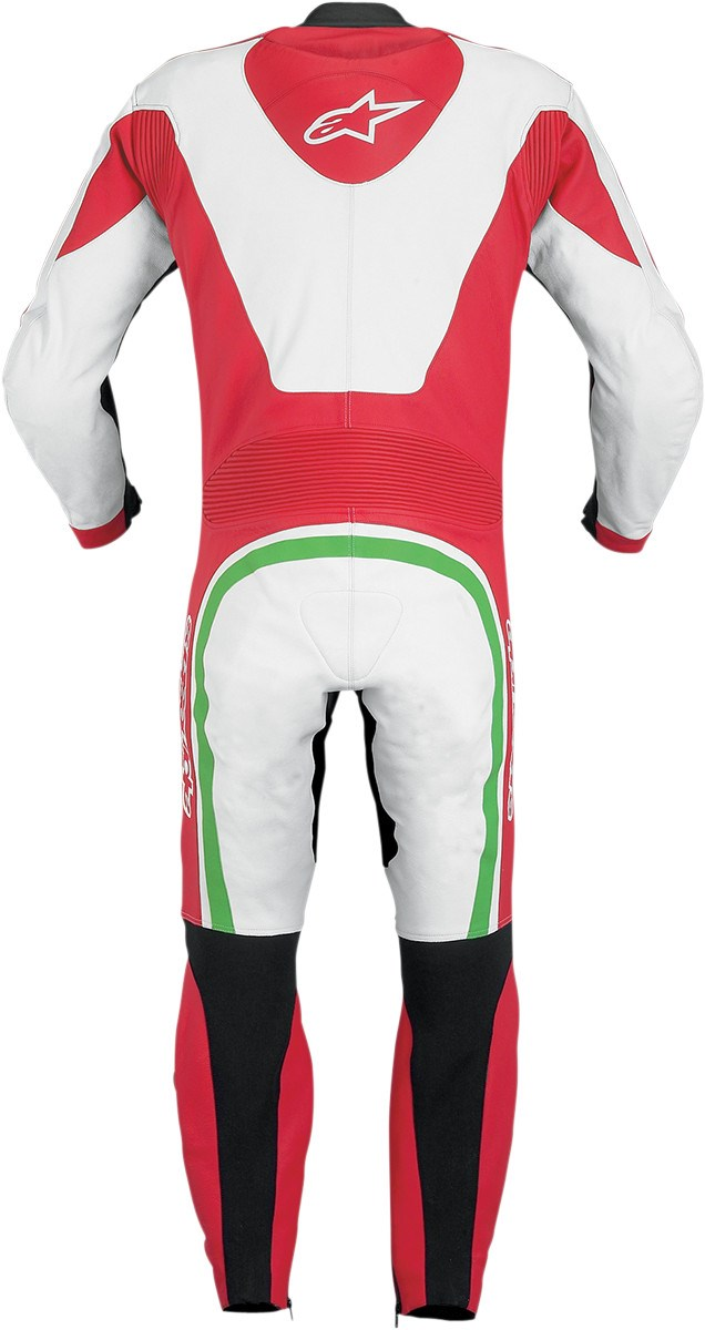 Alpinestars Monza One Piece Leather Race Suit Red