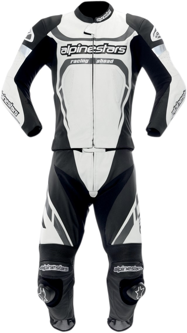 Alpinestars Motegi Two Piece Leather Motorcycle Race Suit