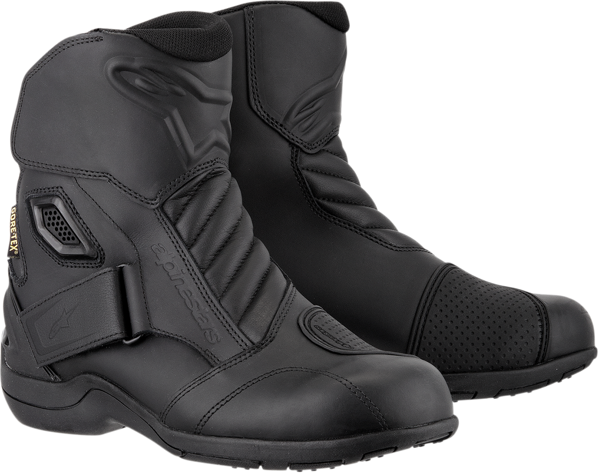 Alpinestars New Land Gore Tex Motorcycle Boots Black