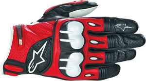 Alpinestars Octane S-Moto Glove - Red