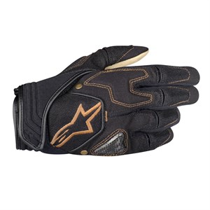 Alpinestars Scheme Kevlar Textile Motorcycle Gloves - Black