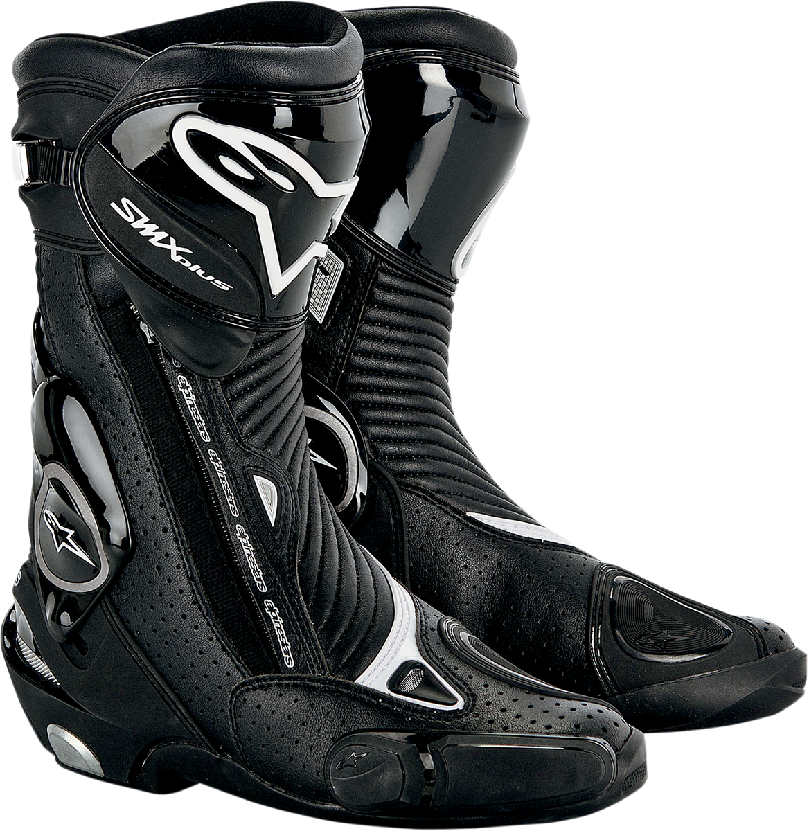 Alpinestars Smx Plus Vented Motorcycle Boot Black