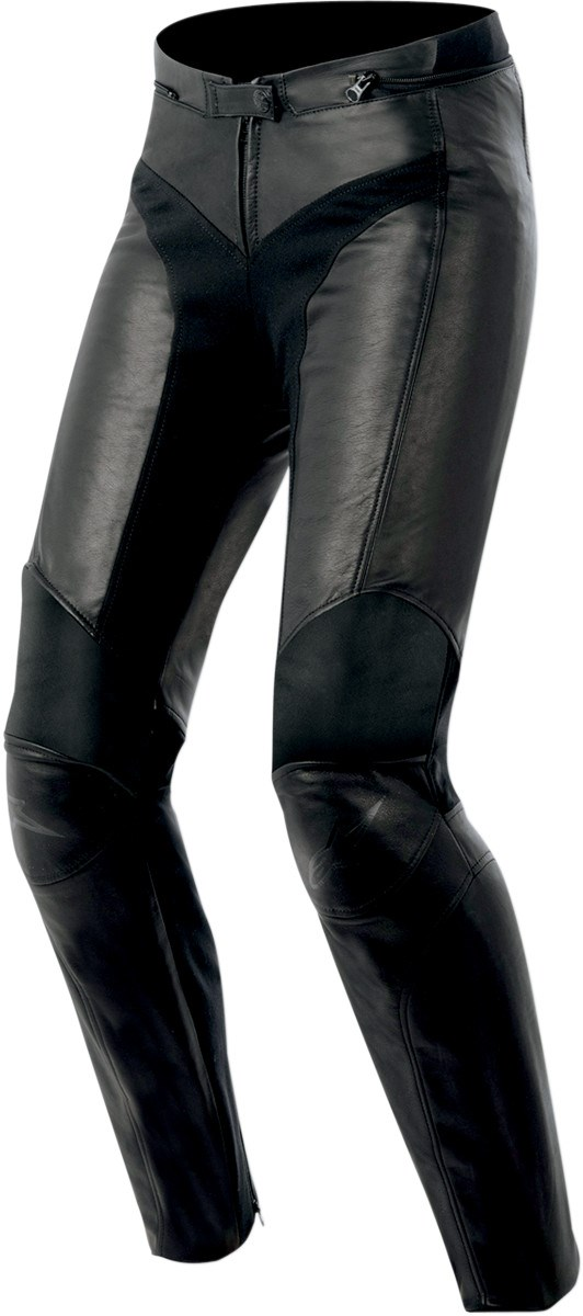 Model Womenu0026#39;s Mona Leather Motorcycle Pants - Sedici