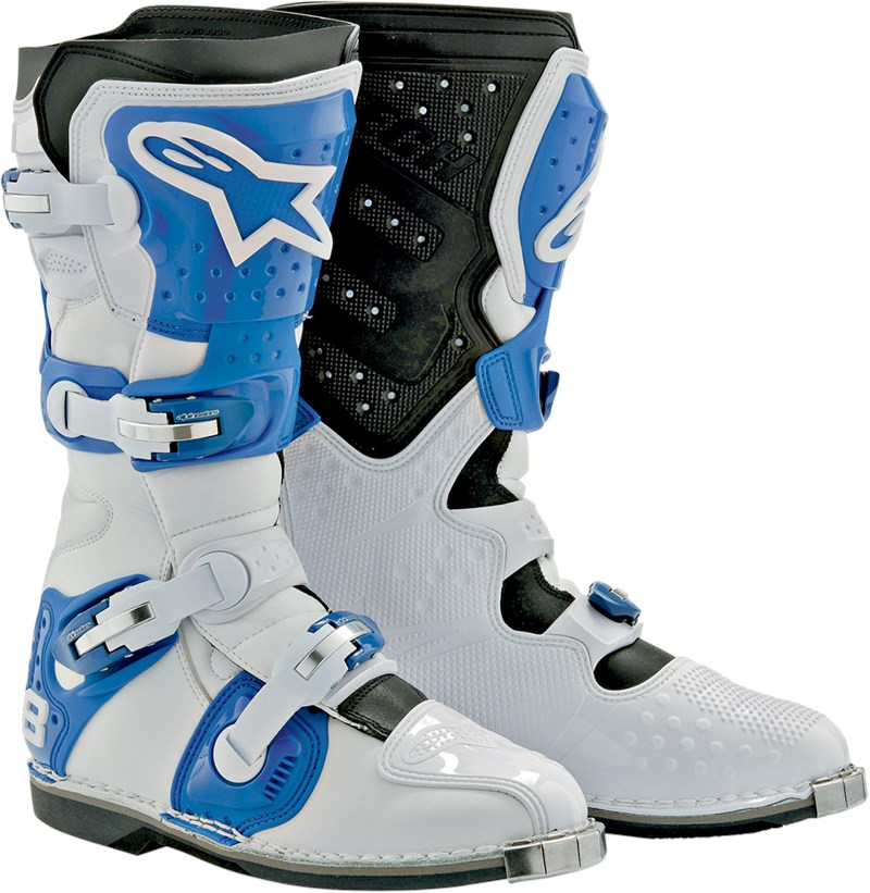Alpinestars Tech 8 Light Offroad Motorcycle Boot White