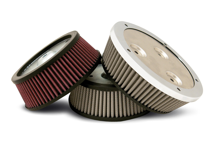 Harley Davidson Air Filter Kits : Arlen ness stage big sucker performance air filter kit