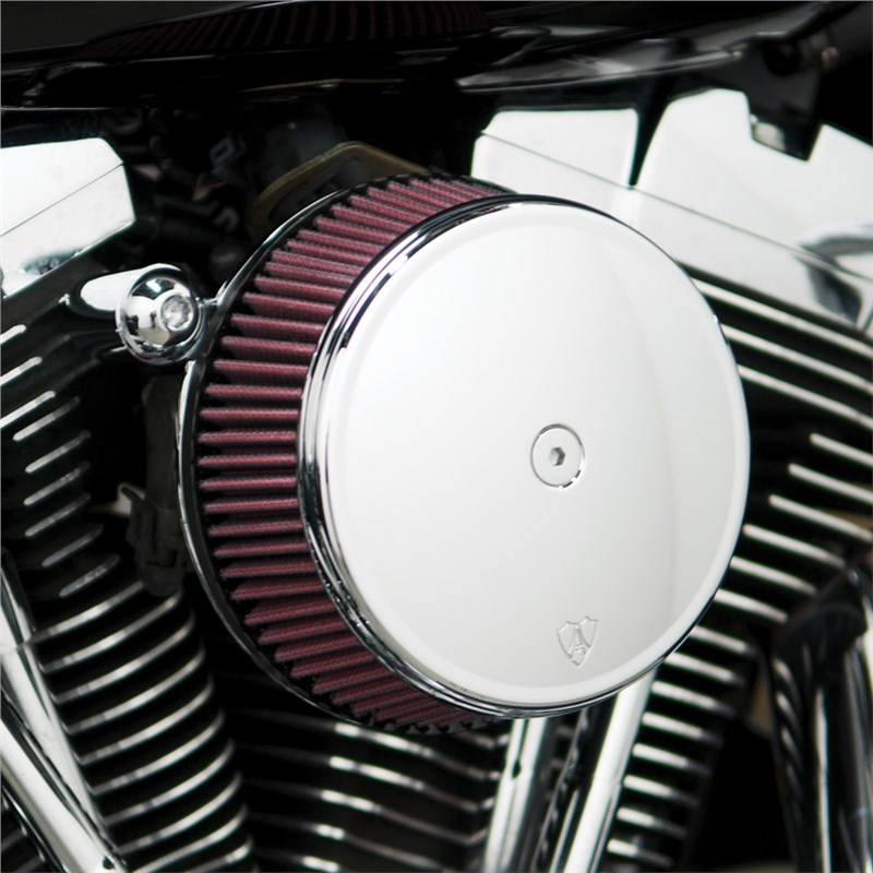 (((NEED TO CHANGE COLOR )))Arlen Ness Stage 2 Big Sucker Performance Air  Filter Kit With Cover - Harley Davidson Touring (08-12)